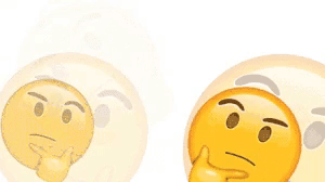 emoji idk thinking