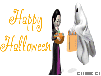 halloween ghost trick or treat