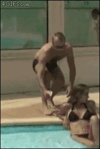 blood prank pool