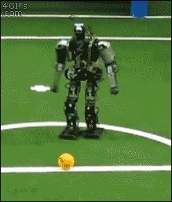 fail soccer robot