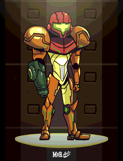 art video games samus