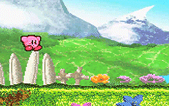 video games kirby gba