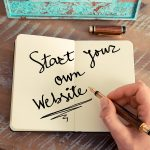 create a personal website