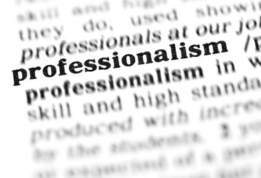 teach professionalism