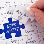 work safety puzzle pieces