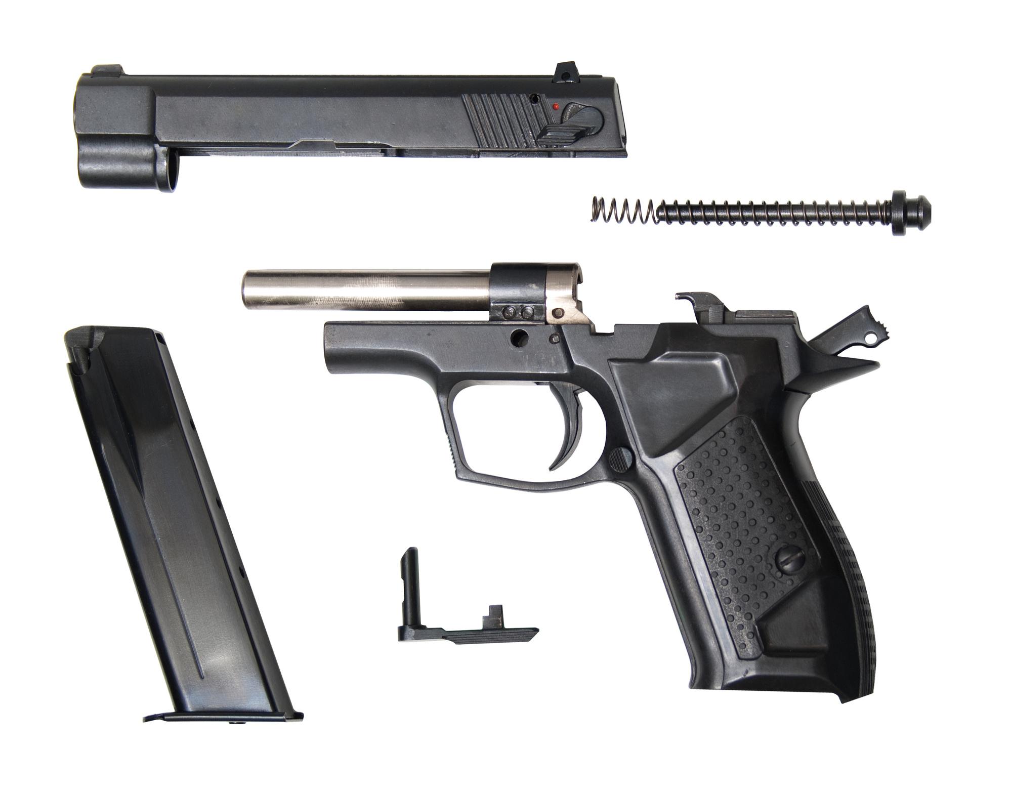 Parts of a Handgun