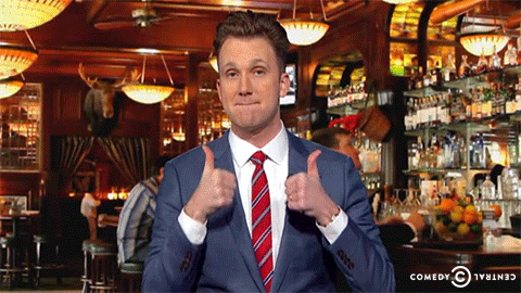 thedailyshow thumbs up good job great